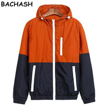 BACHASH Jackets Women New Fashion Jacket Womens Hooded Basic Jacket Casual Thin Windbreaker Female Jacket Outwear Women Coat(China)