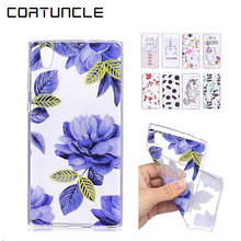 Buy COATUNCLE Coque Sony Xperia L1 Case,Soft TPU Transparent Silicone Cartoon Back Cover sFor Sony L1 G3311 G3313 G3312 Case for $1.00 in AliExpress store