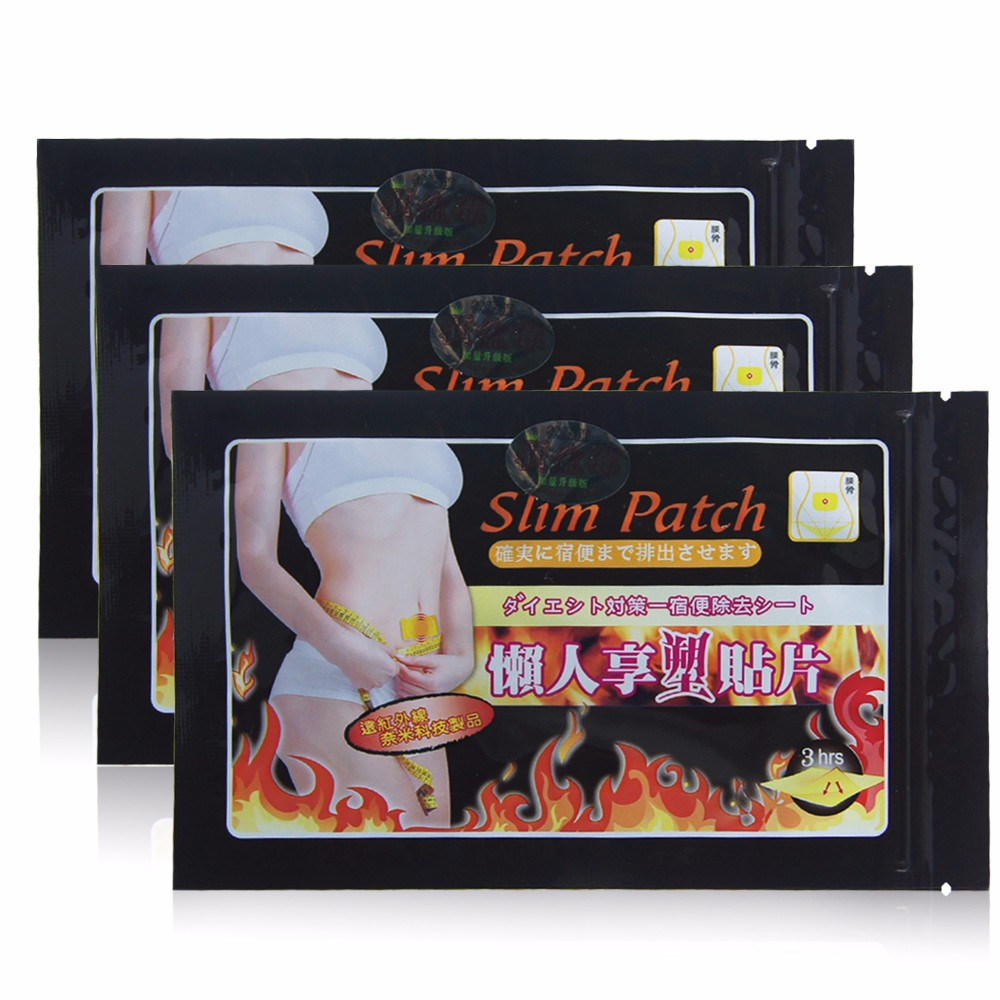 100pcs 10bag Slim Patch Hot Shapers To Slimming Patches Body Wraps Weight Loss Products Fat