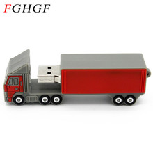 FGHGF trailer pendrive flash drive 4g 8g16g 32g 64gb usb flash Big truck model flash card USB2.0 usb stick free shipping