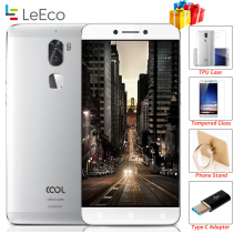 "Original leeco cool 1 Coolpad letv cool1 4G LTE Mobile phone Octa Core Android 6.0 5.5"" FHD 3G 32G Dual Back Cameras Fingerprint"