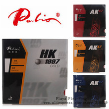 Original Palio 40+ table tennis rubber AK 47 ak47 HK1997 gold table tennis rackets racquet sports pingpong rubber(China)