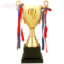 Custom metal cup football trophy Basketball, badminton sports cup wholesale Free printing