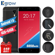 Original Ulefone Power 2 MTK6750T Octa Core Cell Phones Android 7.0 5.5 Inch Mobile Phone 4G RAM 64G ROM OTG Touch ID Smartphone