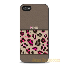 Pink Leopard Unique cell phone case cover for samsung galaxy s3 s4 s5 s6 s7 s6 edge s7 edge note 3 note 4 note 5 #YY554