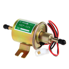 12V Universal Gas Diesel Inline Low Pressure Car Electric Fuel Pump Oil for Diesel & Petrol Engines-D2TB