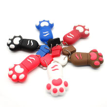 free shipping Hot claw paw model usb 2.0 memory stich flash drive pen drive thumb gift