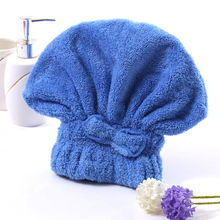 Hot Selling Solid Color Shower Caps Comfortable Make Hair Dry Quickly Cap Bath Bathing Wash Hair Shower Cap Hat(China)
