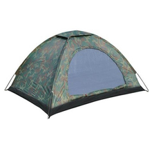 SZ-LGFM-Multiplayer Folding Tent Waterproof Four Seasons Fiberglass For Outdoor Camping Camouflage Hiking