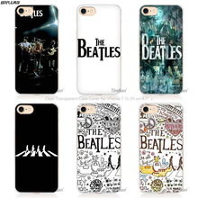 BiNFUL beatles abbey road music England Britain Hard Transparent Phone Case Cover Coque for Apple iPhone 4 4s 5 5s SE 5C 6 6s(China)