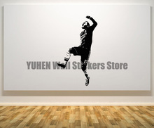 Eden Hazard Chelsea Footballer Football Player Decal Wall Art Sticker Picture