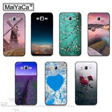 MaiYaCa River Mountain Sky Scenery Landscape cover Hard Plastic PC Phone Accessories Case For Samsung J1 J3 J5 J7 2015 2016 case(China)