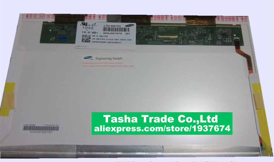 Replacement LCD LTN140KT04 B140RW03 V.1 B140RW01 V.0 LP140WD1-TLA1 FOR DELL 1458 E5420 E6420<br><br>Aliexpress