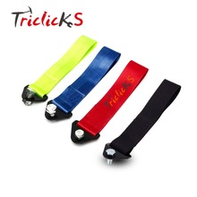 Triclicks Cnspeed Tow Straps Green Navy Black Red Universal Racing Car Tow Strap Tow Ropes Hook Towing Bars With Screws and Nuts