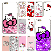 Fashionable Hello Kitty Fashion Fashion Hard Skin Phone Case for Apple iPhone 6 6S Plus 6Plus 6sPlus Cover Coque Shell