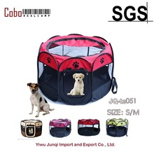 Pet Dog Cat Playpen Tent Portable Exercise Fence Kennel Cage Crate Outdoor Bag(China)
