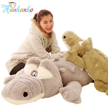 Giant Crocodile Plush Toy Big Size Stuffed Animal Soft Doll Animal Shape Cushion Gift For Children(China)