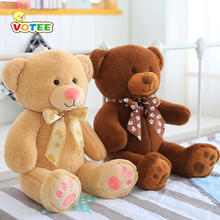 Smart Dialogue Teddy Bear Dolls Plush Toys Speak Sing Tale Story Teddy Bear Kids Birthday Gifts 55cm(China)