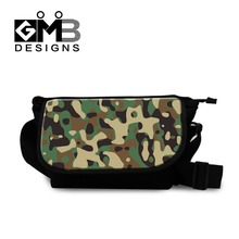 Camouflage Messenger Bags for Boys Mens Casual Crossbody Bags College BookBag Cool Cross Body Bag for Youth Teen Shoulder Bags(China)