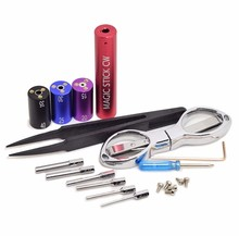 Universal Tools Wire Coiling Tool CW toolbox RDA pre coil vape tool box master vape jig kit 6 in 1 wire coiling machine koiler k