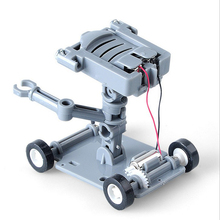 Hot Sale Salt Water Power Robot DIY Mini Without Battery Safe Creative Toys Car Children Educational Toy Gift