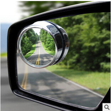 2PCS Car Rearview Mirror Small Round Mirror For Ford Focus Fusion Escort Kuga Ecosport Fiesta Falcon EDGE/Explorer/EXPEDITION