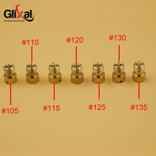 Buy M5x0.80 GY6 125cc 150cc Carburetor Carb Main Jet 152QMI 157QMJ #105 #110 #115 #120 #125 #130 #135 Scooter Moped ATV (7 pcs) for $1.99 in AliExpress store