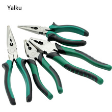 Yalku Side Cutters Wire Stripper Multitool Plier Combination Plier 6/8 inch Long Nose Plier Hand Tool Side Cutter Wire Stripper