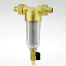 1/2 Inch / 3/4 Inch Copper Port Cleaner Filter Household Whole House Water Filter Pipes Central Water Purifier Descaling