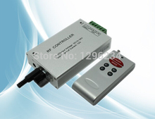 RF Wireless Audio LED Controller;RF LED Music Controller;DC12~24V;Output current:max 4A*3channels,power:12V:<144W,  24V:<288W