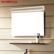 Modern Led wall lamp bathroom mirror lights sconce bedroom living room luminaire lamparas de pared lighting fixture(China)
