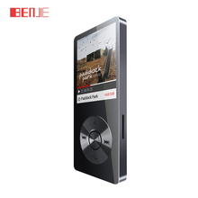 BENJIE k9 8GB lossless HiFi stainless steel MP3 Music player Portable MP3 Audio play E-book FM radio voice recorder with headset(China)
