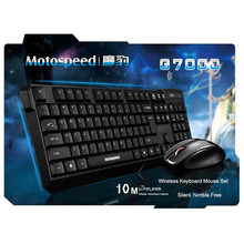 Brand New MOTOSPEED 2.4G Wireless Keyboard & Optical Mouse Combo Kit with USB Receiver Gaming Mice Keyboard for Notebook Laptop(China)