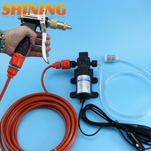 12V 60W Electric High Pressure Water Pump Water Gun Car Washer Portable Washing Machine Garden Pump Whole Set Lavador de coches