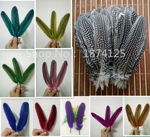 20 pieces / lot 15-20cm long, beautiful pearl chicken feathers, DIY crafts decorative accessories(China)