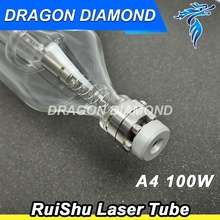 ruishu A4 100W CO2 Laser Tube for CO2 Laser Engraving Cutting Machine(China)