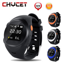 Chycet S888 2G SIM Card Smart Wrist Watch SOS Emergency Call Smartwatch GPS LBS Wifi Sport Intelligent Clock For Old Man Kids(China)