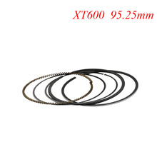 Motorcycle Piston Rings Set For Yamaha XT600 XT 600 (+25) 0.25mm Oversize Bore Size 95.25mm NEW