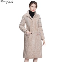 Faux Fur coat 2017 Fashion New High Imitation Fur Coat Mink Coat Female Section Mink Long Section Large Size Fur Coats For Women(China)