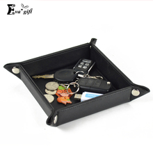 Creative cortex disc change key storage box storage box fashion household items Decoration Coin tray key organizer for office(China)