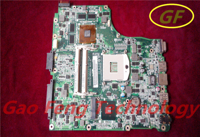 laptop motherboard Acer Aspire 4820 4820T motherboard MBPSE06001 DA0ZQ1MB8D0 HM55 DDR3 Non-integrated 100% fully tested