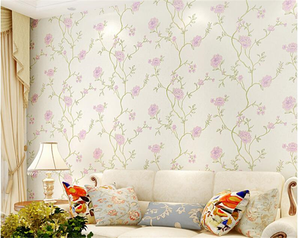 beibehang papel de parede Cubic Countryside Nonwovens 3d Wallpaper Living Room Background Wallpaper Warmest Bedroom wall paper <br>