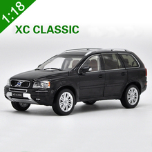 High Quality 1:18 VOLVO Black XC90 XC Classic T5 Car Model SUV Alloy Metal diecast Nordic Luxury Car For boy gifts collection