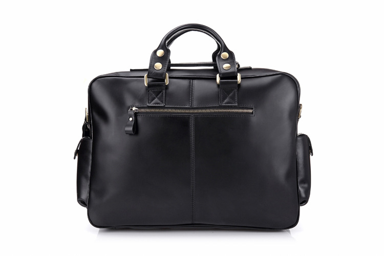 2018 Portfolios Briefcase Laptop Bag High Quality Guaranteed Real Genuine Leather Men Messenger Bags Multifunction Handbags
