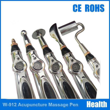 New 2017 Hot selling Pain Relief Electric Acupuncture Magnet Therapy Heal Massage Pen 5 head Meridian Energy Pen(China)