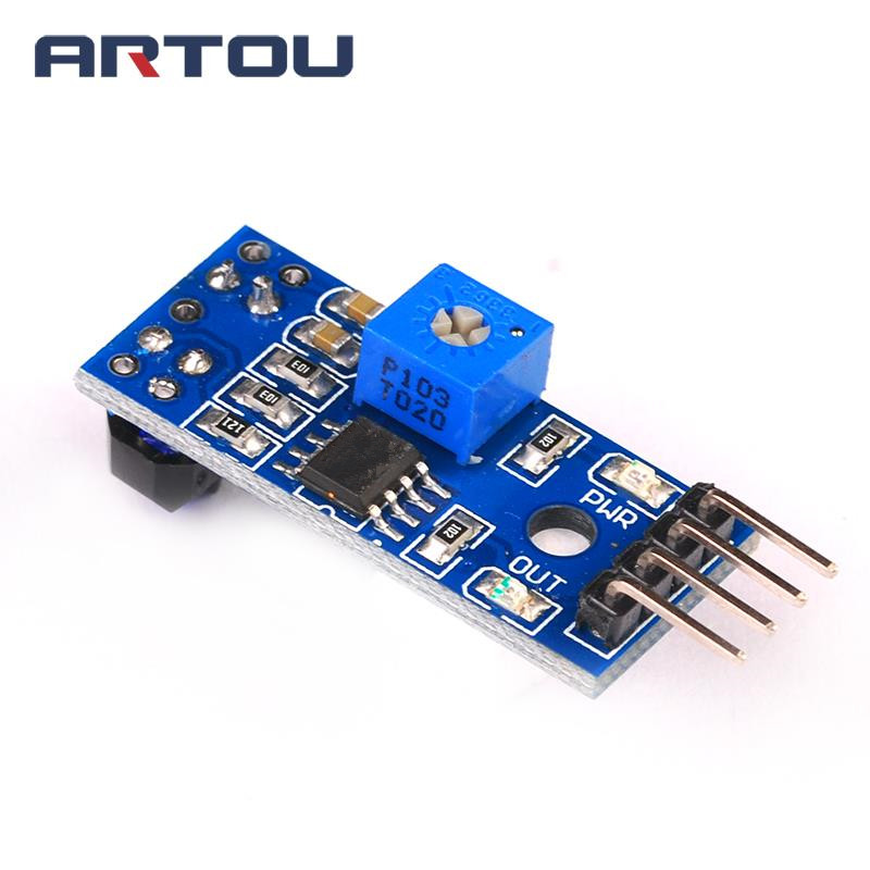 1PCS TCRT5000 Infrared Reflectance Sensor Obstacle Avoidance Module 1 Channel Tracing Sensor Tracing Module