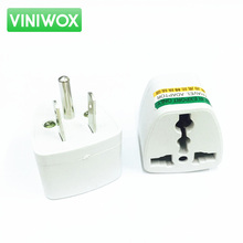 10pcs EU UK AU To US Plug United States of America Travel AC Power Charger Outlet Adapter Converter 2 Flat Socket Input Pin(China)