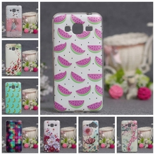 Luxury Case Soft TPU Back Cover For Samsung Galaxy J1 J1 ACE J2 J3 J5 J7 Silicone Fashion Painting Skin Gel For Galaxy J Series
