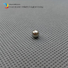 "NdFeB Magnet Balls 3/16"" Diameter Strong Neodymium Sphere Permanent Magnets Rare Earth Magnets Grade N42 NiCuNi Plated"