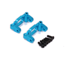 2PCS Front Hub Carrier Caster Blocks For Rc Hobby Model Car 1/18 Fs Racing Big Foot C-Hub Carrier Monster Truck Hopup Parts(China)